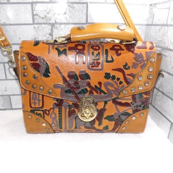 0f71aba792 Leather Egyptian Princess Handbag Purse R Princess.  M_5c191a51e944ba728254c6e4